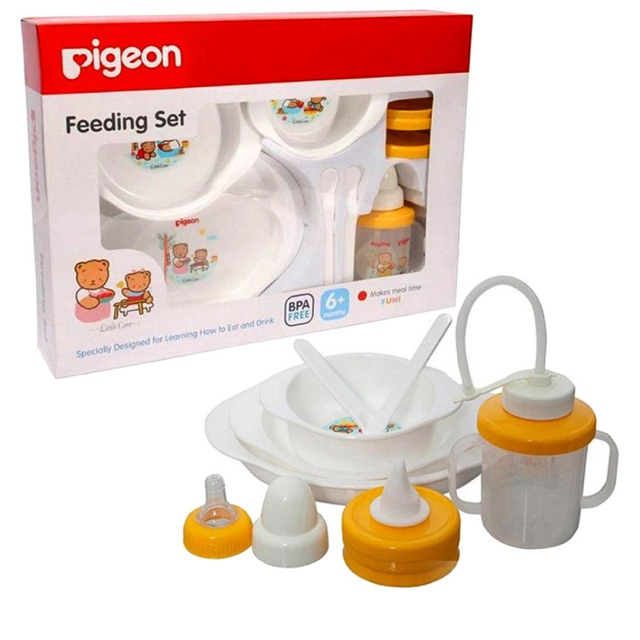 baby feeding set MPASI