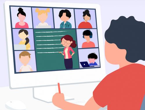 pengalaman belajar online