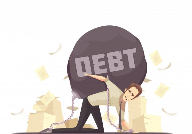 hutang yang membebani