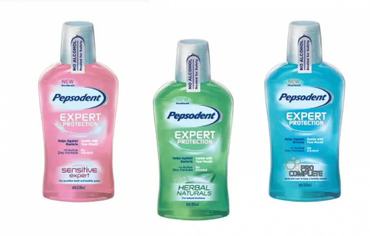 pepsodent mouthwash