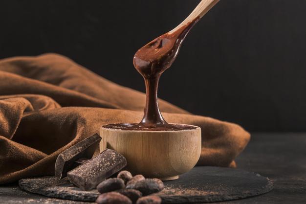 coklat leleh