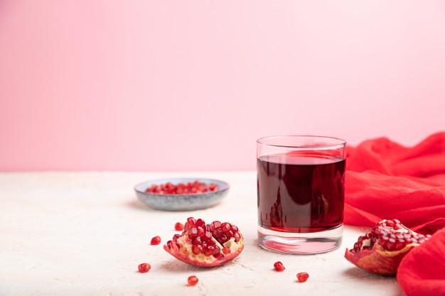 jus buah delima adalah minuman penurun kolesterol