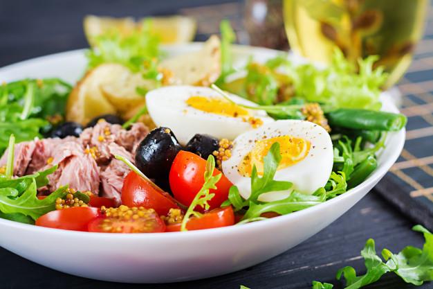 salad kentang bisa menjadi menu sarapan pagi