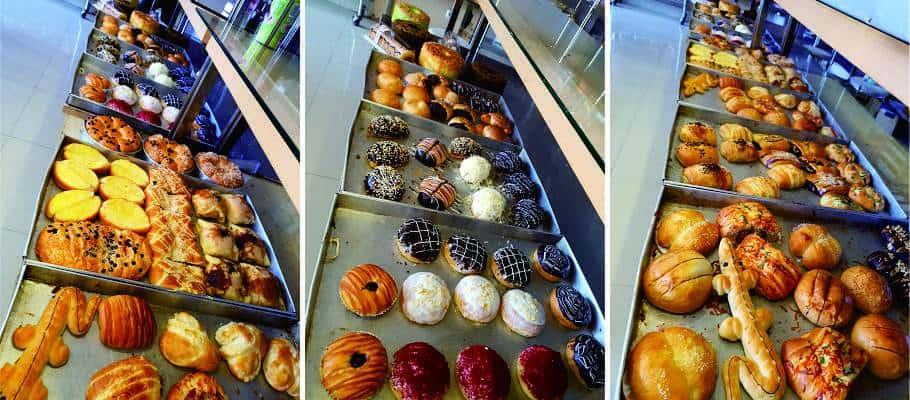 aneka roti di Bakery Cirebon
