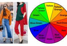 cara memadukan warna baju dan celana menurut rumus roda warna