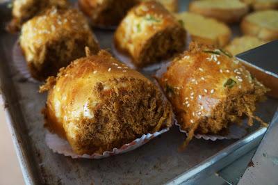 roti gulung abon bakery cirebon