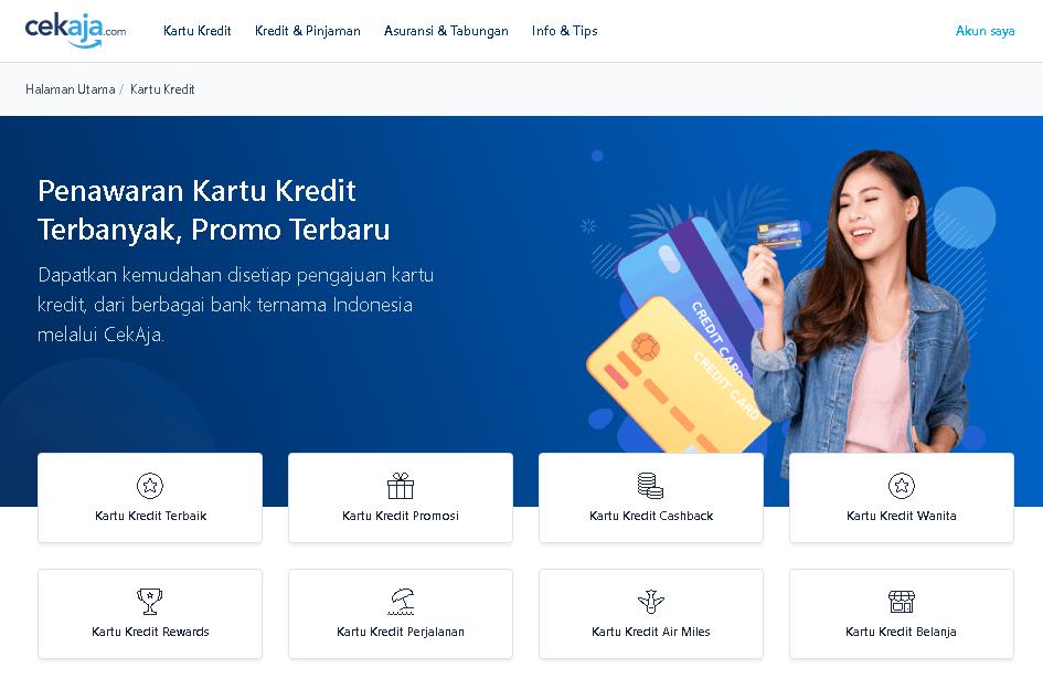 cara daftar kartu kredit secara online