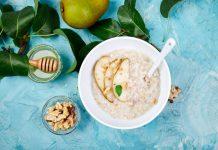oat milk buah pir adalah MPASI untuk anak 1 tahun