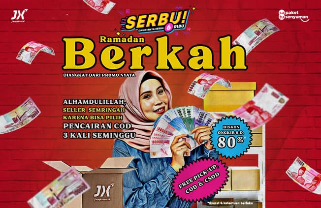 promo serbu ramadhan JX Indonesia teman online seller