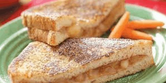 resep MPASI 1 Tahun roti apel