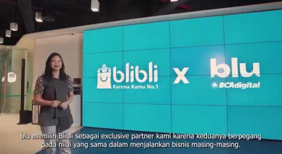 blu berpartner dengan Blibli