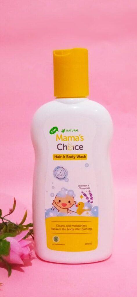 Review Mama's Choice Baby Hair and Body Wash sabun untuk kulit bayi sensitif